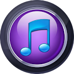 Purple Player Pro: Music Player App Icon