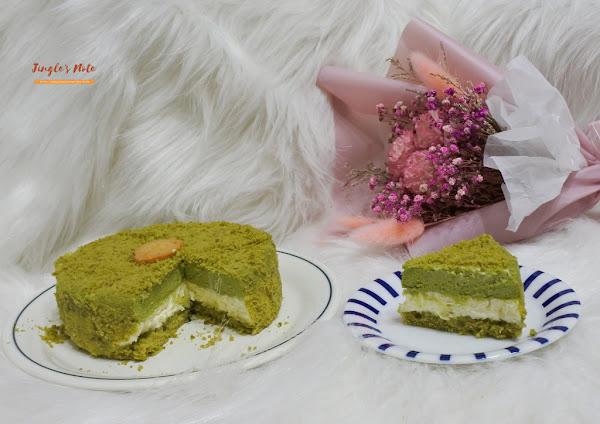 moricaca 森果香。抹茶柚子起司蛋糕,雙重口味交織的美好味道,很適合夏季