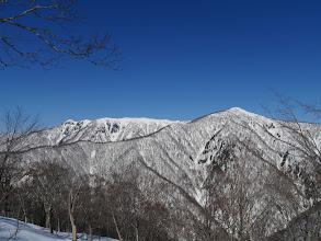 三ヶ辻山・人形山・カラモン峰
