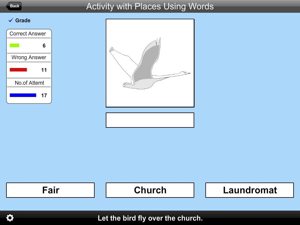 Activity with Places UWrd Lite- screenshot