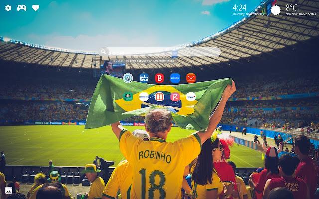 Soccer & Football Wallpapers HD New Tab