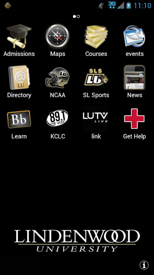 LindenwoodU- screenshot