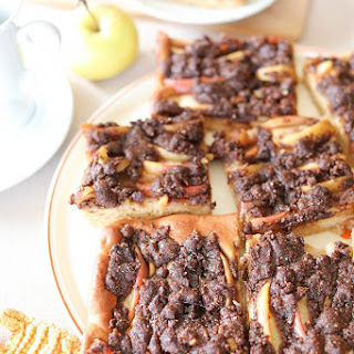 Yeast Cake with Apple and Almond Crust Recipe