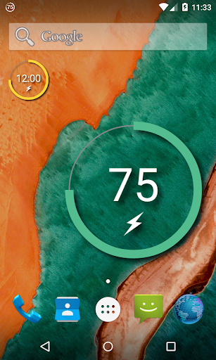 Battery Widget Reborn フリー