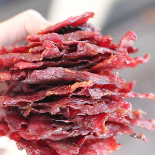 Dr. Pepper Jalapeno Beef Jerky.
