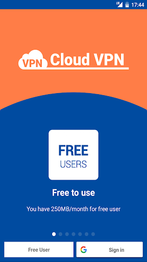 Cloud VPN - Proxy Server - Unlimited 2.45.180911 screenshots 1
