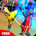 Basketball Players Fight 2016