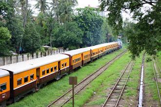 Photo: Year 2 Day 54 - Train in Yangon