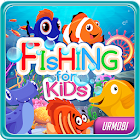 Fishing for Kids. A fun children's fishing game. icon