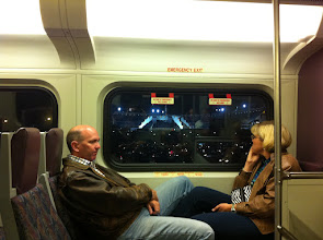 Photo: View of U2 360 from Angels Train
