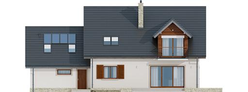 Amaranta G2 Leca® Dom - Elewacja tylna