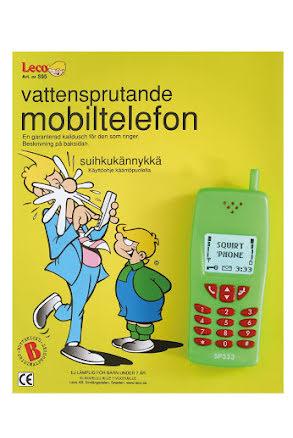 Sprutande mobiltelefon