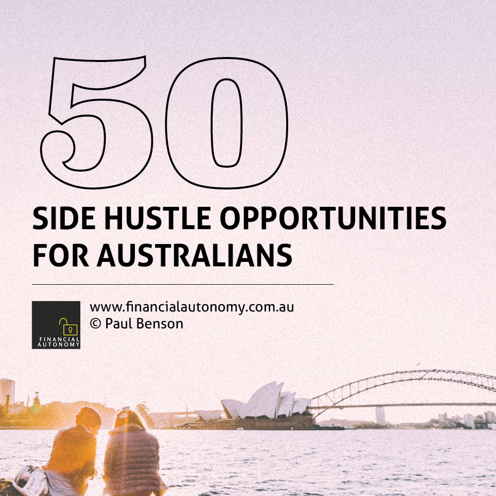 50 Side Hustle Opportunities for Australians