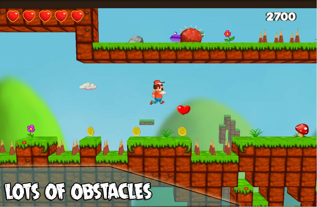 Super Barzo adventure- screenshot