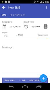 Auto SMS Sender - screenshot thumbnail