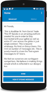 Social Trade Biz - Speaks- screenshot thumbnail