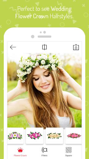 Wedding Flower Crown Photo 1.5 screenshots 12