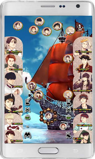 Bubble Shooter EXO Pirates HD