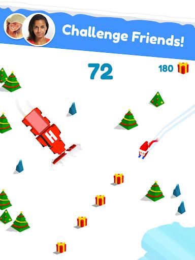 Huuuge Santa Ski screenshot 12