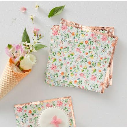 Servetter - Ditsy Floral