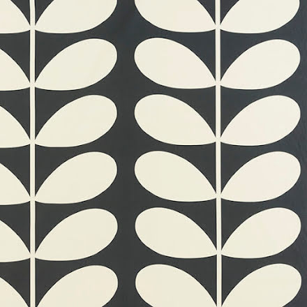 Giant Stem av Orla Kiely - cool grey