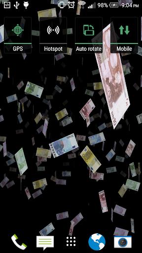 お金の3Dライブ壁紙無料