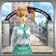 High School Security Anti-bully Girl Simulator
