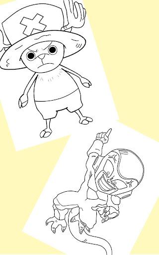 Cartoon Free Coloring