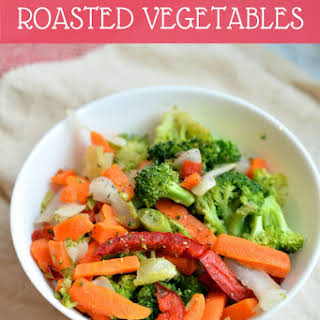 Easy Asian-Inspired Roasted Vegetables.