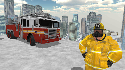 Fire Truck Driving Simulator 1.13 screenshots 4