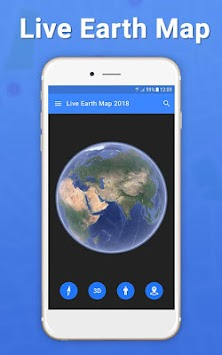 live earth map 2018 satellite view gps tracker by photo video maker with music