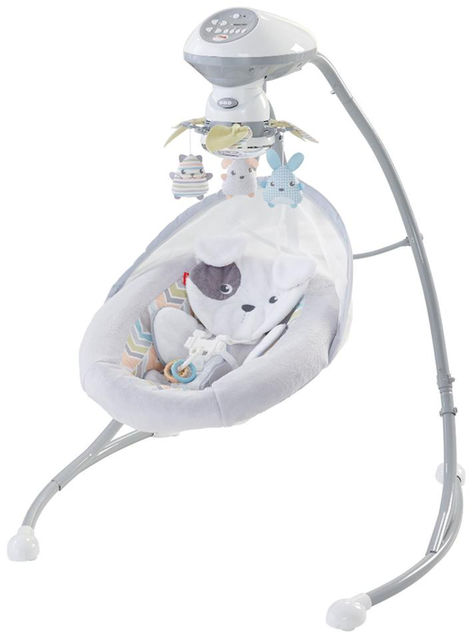Fisher-Price Sweet Snugapuppy Dreams Cradle Swing