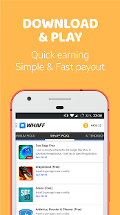 WHAFF Rewards: miniatura de captura de pantalla
