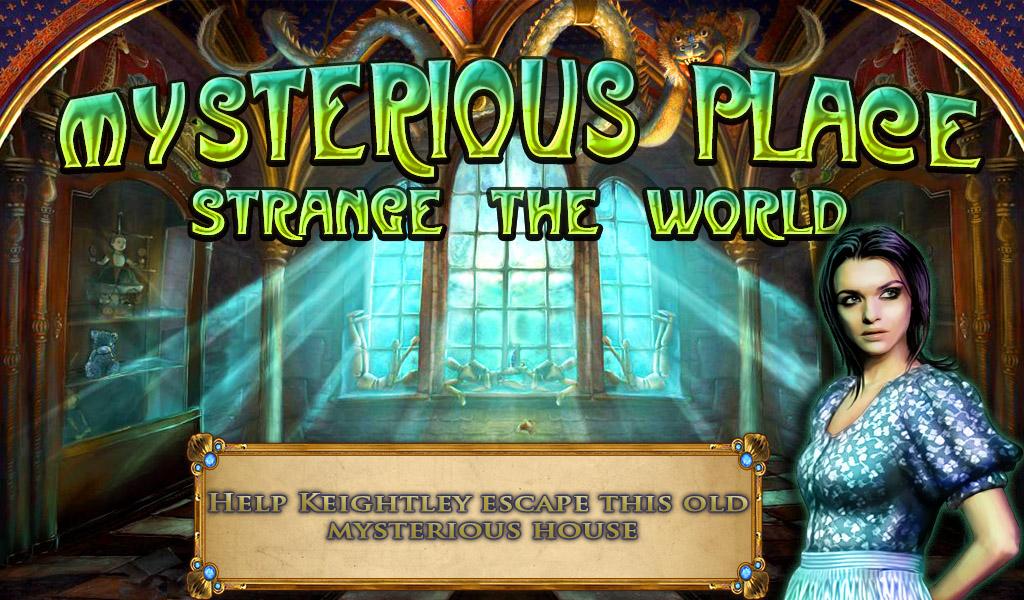 Hidden Object: Strange Mystery - screenshot