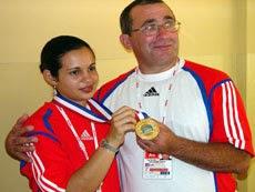 Photo: cuban athlete