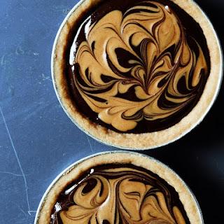 Swirls and Chocolate Peanut Butter Tarts Recipe