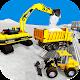 Snow Excavator Crane Simulator