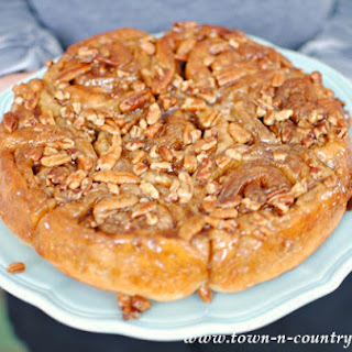 Sticky Buns with Pecans.