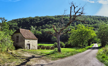 Photo: On a Country Road in the Vers Valley