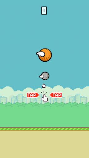 Flappy Dunk Classic : Basketball Challenge 1.0 screenshots 2