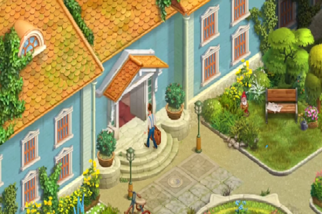 Game Homescapes Tutorial - náhled