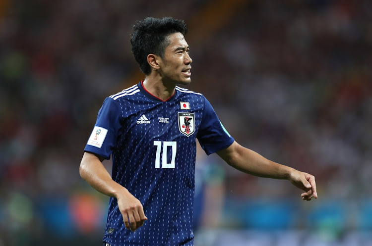 Japan's distinctive neckline sets its jersey apart from other teams'
