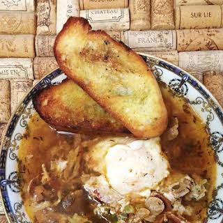 Sopa de Ajo (Spanish Garlic Soup).