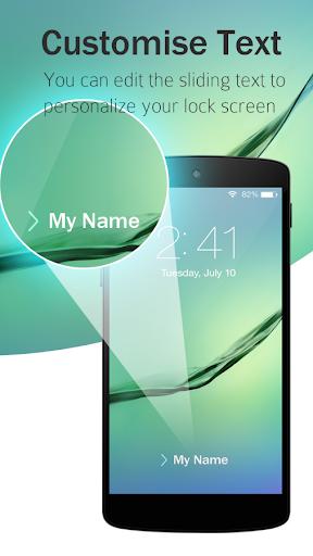Lock Screen Galaxy Theme screenshot 5