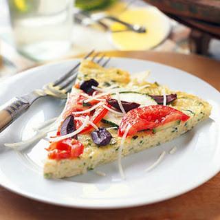Zippy Zucchini Frittata