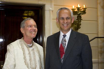 Photo: Michael Waddoups, President of the Utah Senate
