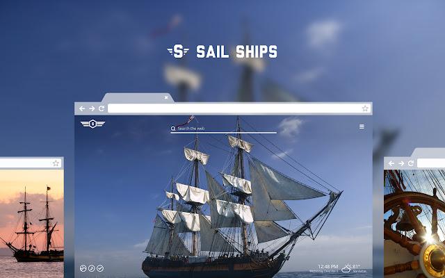 Sail Ships HD Wallpapers New Tab Theme