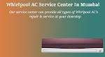 Whirlpool AC Service Center in Mumbai