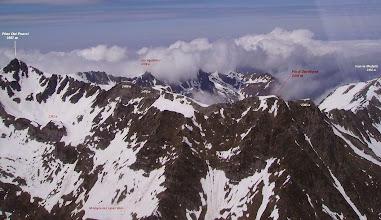 Photo: Crêtes du massif du pic du Midi de Bigorre juste au nord de Barèges