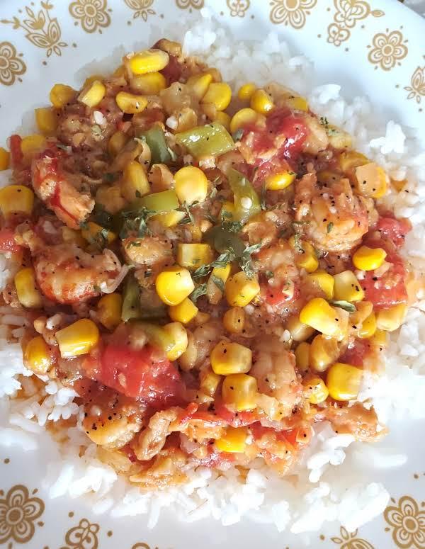 Crawfish Corn Macque Choux